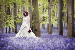 Sussex woodland wedding photography