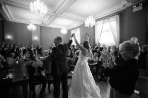 Wedding in Brighton Town Hall