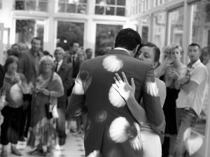 The first dance photograph