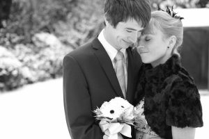 Wedding photography on a Sussex winter day