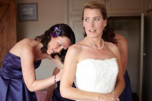 Photography of the bride's preperations