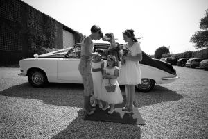 Photograpy of the Brides arrival