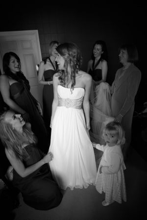 Photo's of the bridal party