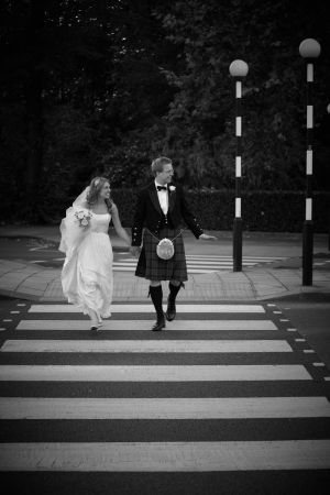 Contemporary style wedding photography