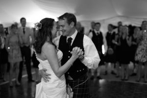 A photographers view of the first dance
