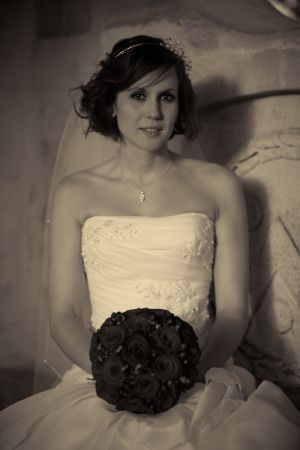 Contemporary photography of the Bride