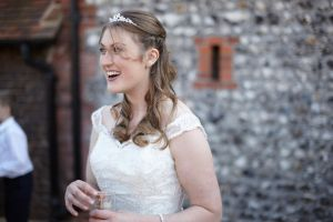 A very happy Bride