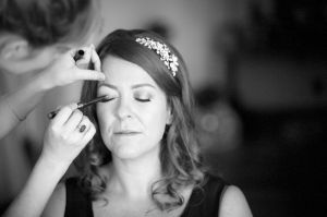 Bridal preperations at the Hotel Du Vin, Brighton