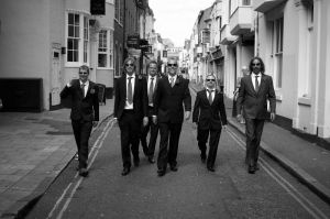 The Groomsmen hit Brighton