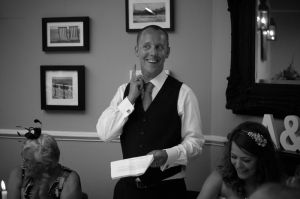 Speeches at the Hotel Du Vin Brighton
